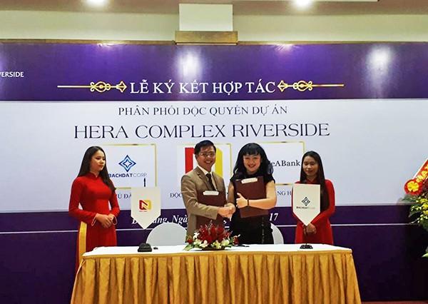 Nhất Nam Land và Bách Đạt hợp tác phân phối độc quyền Hera Complex Riverside