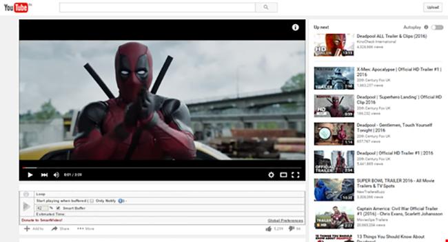 youtube, tăng tốc độ phát video, video youtube, smartvideo, buffer, VietTimes