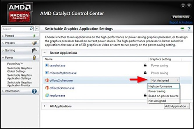 AMD, card đồ hoạ, VietTimes, NVIDIA, Thủ thuật windows