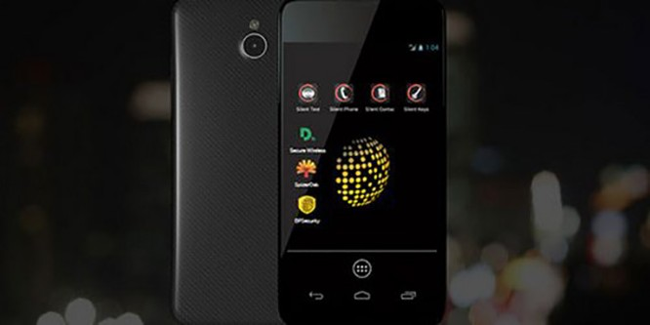 Chiếc Blackphone được cho là điện thoại bảo mật nhất hiện nay.