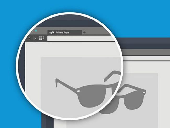 Dùng chức năng private browsing trong trình duyệt để không bị theo dõi.