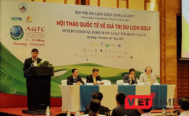 Đại Hội Du Lịch Golf Châu Á, Đà Nẵng, Tổ chức Du lịch Golf Thế giới, IAGTO, VietTimes
