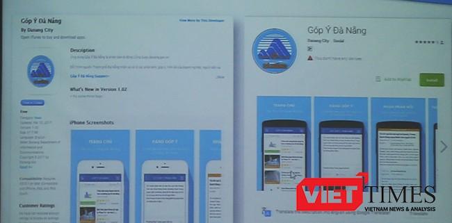 VietTimes, Sở TT&TT, Sở GTVT, Đà Nẵng, Họp báo công bố, ứng dụng trên di động, Góp ý, Danabus