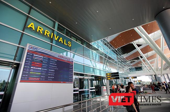 Ngắm Nhà ga quốc tế sân bay Đà Nẵng 3.500 tỷ sắp khánh thành ảnh 36