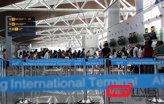 VietTimes, Nhà ga quốc tế T2, Sân bay Đà Nẵng, khánh thành, đưa vào khai thác, hàng không
