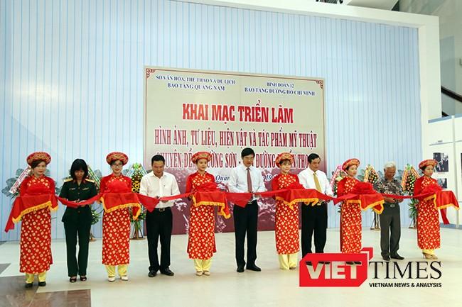 Quảng Nam, triển lãm, đường Hồ Chí Minh, Trường Sơn, Con đường huyền thoại, VietTimes