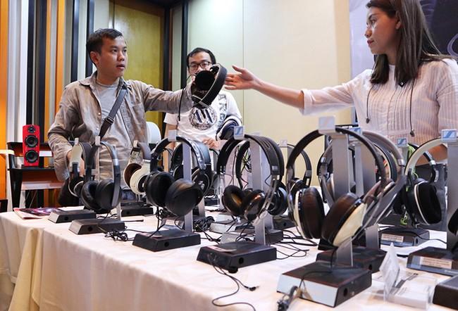 Trển lãm, âm thanh di động, nhất Việt Nam, loa di động, VietTimes