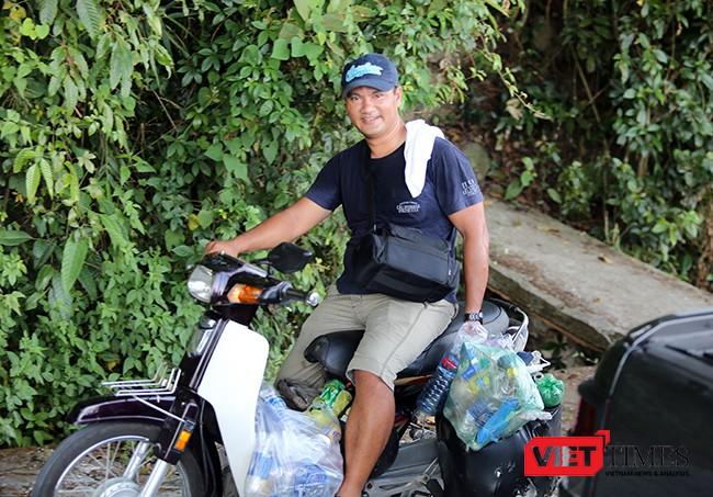 nghiện nhặt rác, Sơn Trà, môi trường, Đà Nẵng, VietTimes