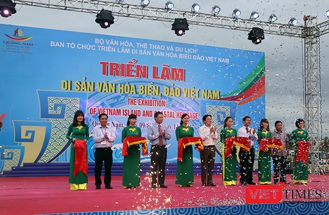 Festival Quảng Nam 2017: Trưng bày triển lãm di sản văn hóa biển, đảo Việt Nam ảnh 2