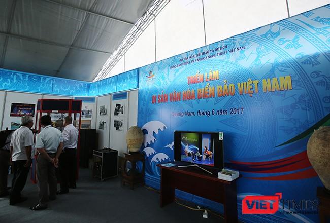 Festival Quảng Nam 2017: Trưng bày triển lãm di sản văn hóa biển, đảo Việt Nam ảnh 3