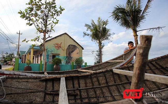 """Ngắm """"con đường thuyền thúng"""" độc đáo ở Quảng Nam ảnh 43"""