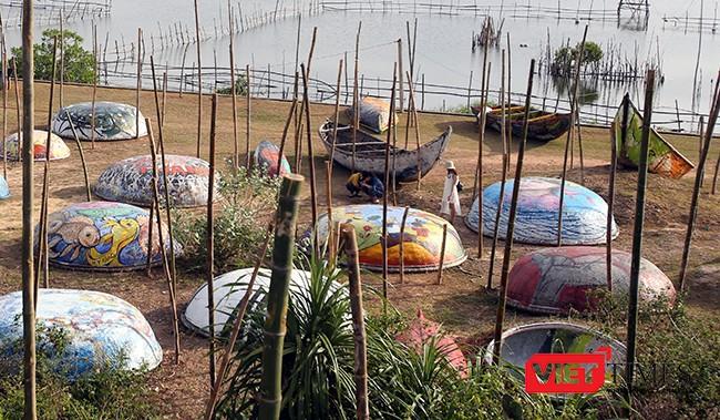 """Ngắm """"con đường thuyền thúng"""" độc đáo ở Quảng Nam ảnh 14"""