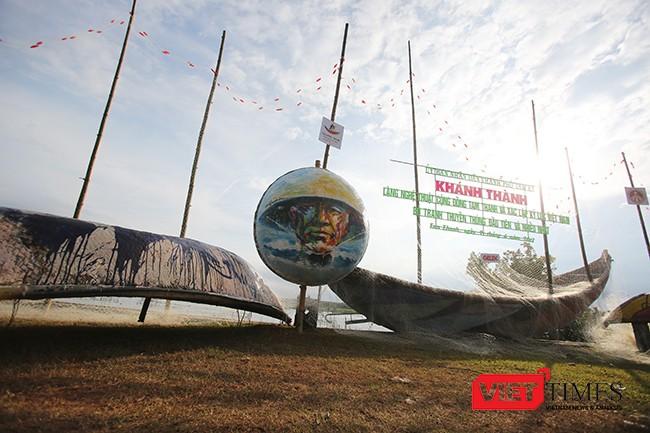 """Ngắm """"con đường thuyền thúng"""" độc đáo ở Quảng Nam ảnh 4"""