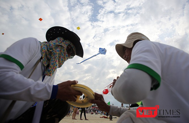 Ảnh: Ngắm những cánh diều tại Festival Diều quốc tế Quảng Nam năm 2017 ảnh 4