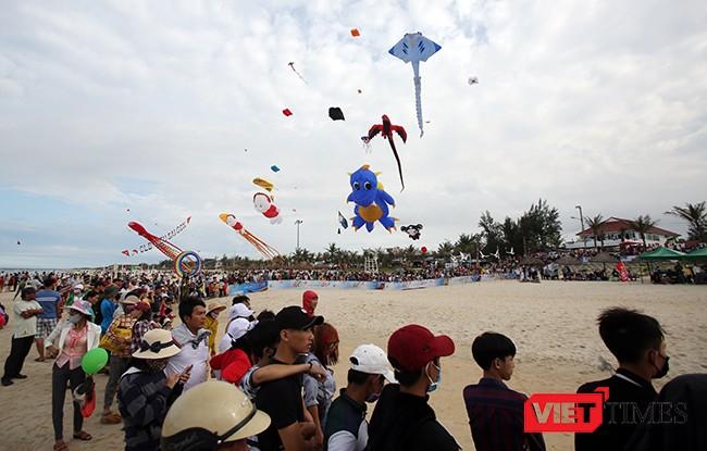 Ảnh: Ngắm những cánh diều tại Festival Diều quốc tế Quảng Nam năm 2017 ảnh 6