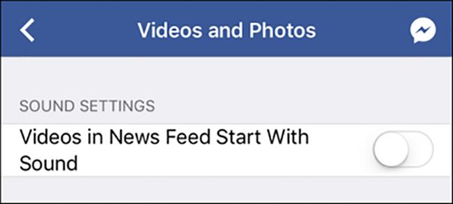 Cách tắt âm thanh phiền phức trên video Facebook ảnh 2