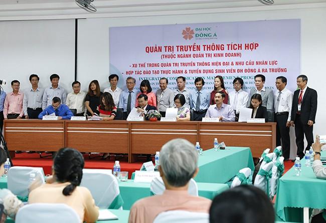 VietTimes, ĐH Đông Á, đào tạo, hợp tác, Quản trị truyền thông tích hợp, Đà Nẵng