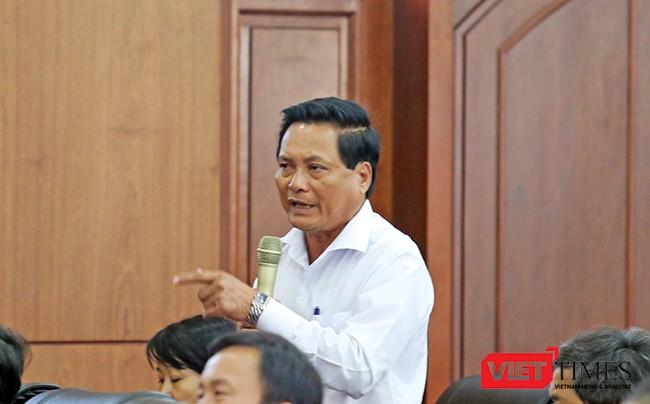 Ông Dương Thành Thị, Chủ tịch HĐND quận Liên Chiểu bức xúc khi vấn đề bãi rác Khánh Sơn không được giải quyết như đã hứa với cử tri