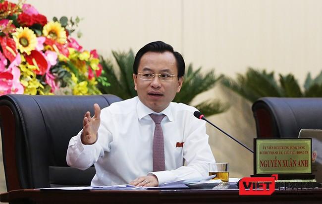 Bí thư Thành ủy, Chủ tịch HĐND TP Đà Nẵng Nguyễn Xuân Anh đánh giá cao vai trò của báo chí và mong muốn báo chí và TP có mối quan hệ tốt để góp phần phát triển địa phương