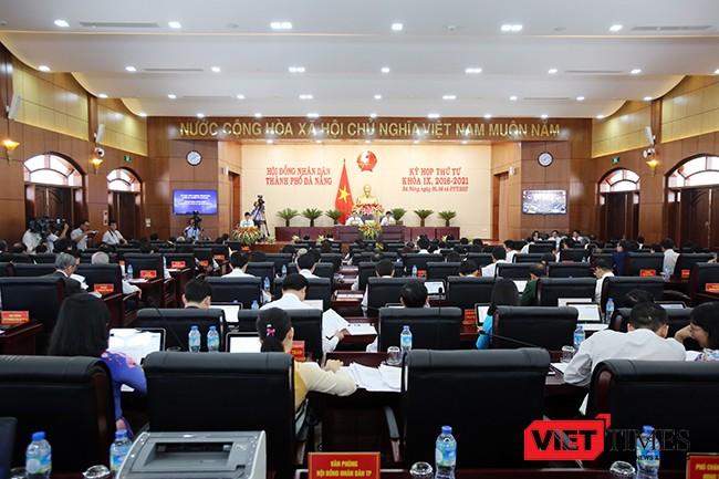 Theo Văn phòng HĐND TP Đà Nẵng, sau 3 ngày làm việc (từ ngày 5/7-7/7) Kỳ họp thứ 4, HĐND TP Đà Nẵng khóa IX, nhiệm kỳ 2016-2021 đã diễn ra đúng luật, dân chủ và hoàn thành toàn bộ nội dung, chương trình đề ra.