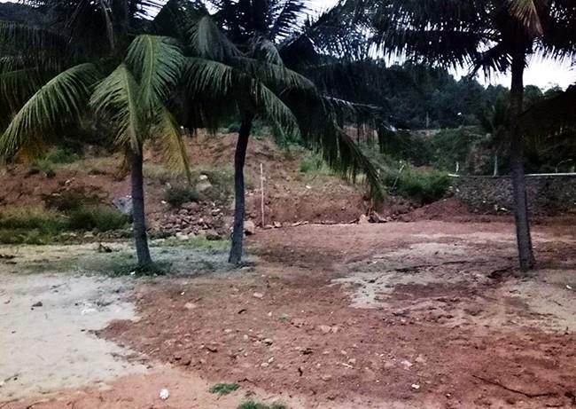 Hiện trường vụ việc (ảnh Hồ Duy Diệm)