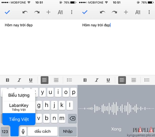 4 ứng dụng giúp biến giọng nói thành văn bản ảnh 2