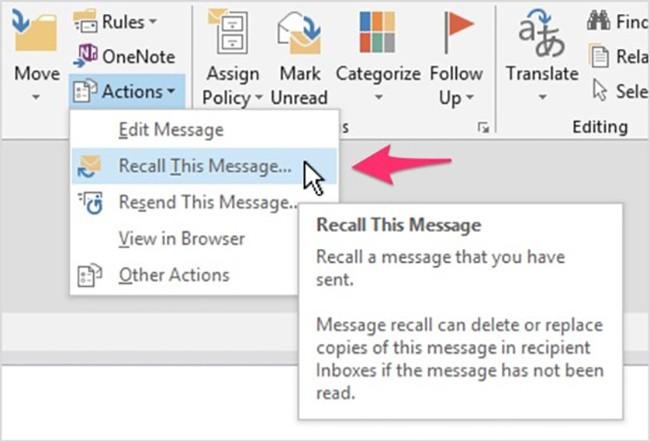 2 cách lấy lại email khi đã lỡ tay bấm gửi ảnh 1