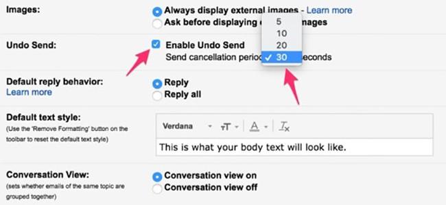 2 cách lấy lại email khi đã lỡ tay bấm gửi ảnh 2