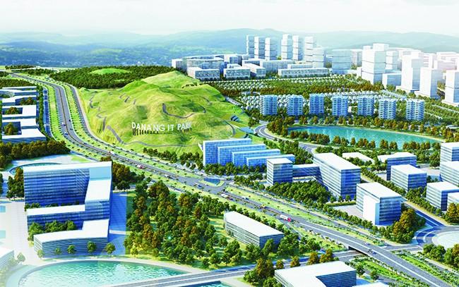 Phối cảnh Dự án Khu Công nghệ thông tin Đà Nẵng