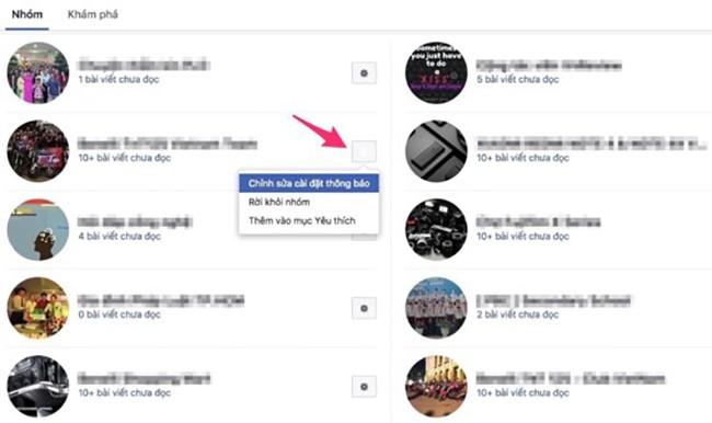 Cách tắt thông báo phiền phức trên Facebook ảnh 4