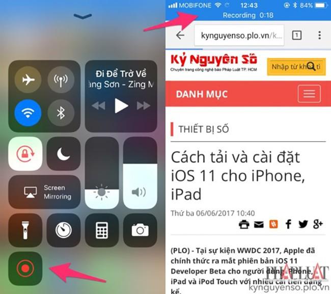 Mẹo quay phim màn hình trên Android và iOS ảnh 3