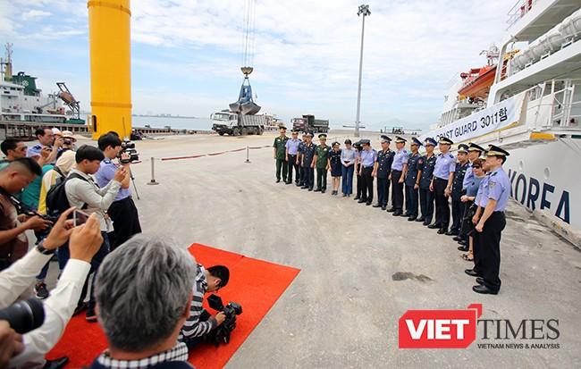 Tàu của lực lượng Bảo vệ bờ biển Hàn Quốc đến Đà Nẵng ảnh 8