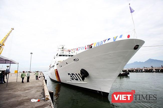 Đây là lần thứ 2 tàu Badaro đến Việt Nam và lần thứ 5 tàu thuộc Lực lượng Bảo vệ bờ biển Hàn Quốc đến Việt Nam.