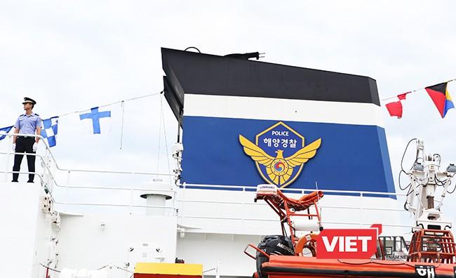 Tàu của lực lượng Bảo vệ bờ biển Hàn Quốc đến Đà Nẵng ảnh 13