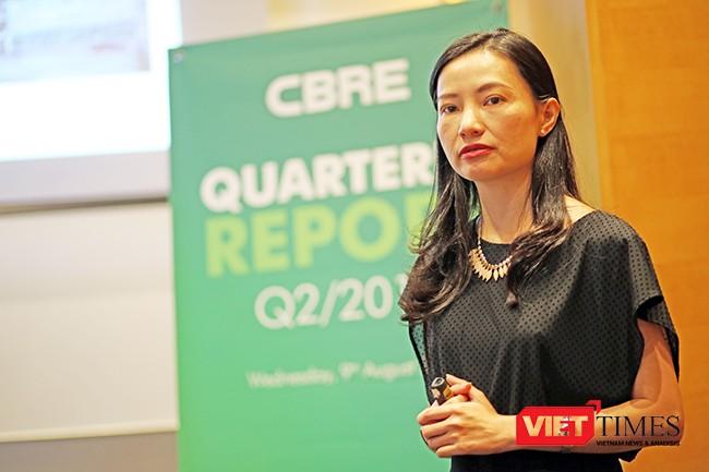 Bà Dương Thùy Dung, Giám đốc, Trưởng phòng Nghiên cứu thị trường và Tư vấn phát triển của CBRE.