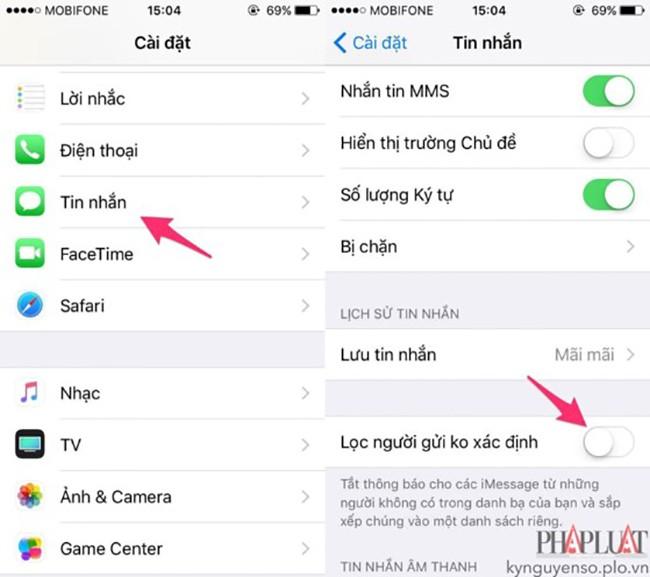 2 cách chặn tin nhắn quảng cáo trên smartphone ảnh 3