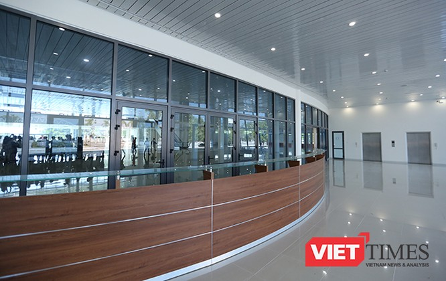 Ngắm Trung tâm báo chí Quốc tế phục vụ APEC 2017 ở Đà Nẵng ảnh 8