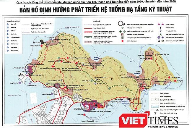 Trước khi có quy hoạch du lịch bán đảo Sơn Trà, Đà Nẵng đã cấp phép chủ trương đầu tư cho 25 dự án. Trong đó có 18 dự án du lịch và có 11 dự án có phòng lưu trú với quy mô phòng lưu trú gồm: 1.400 phòng khách sạn và 1.920 căn biệt thự