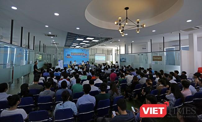 Sự kiện được tổ chức tại Vườn ươm khởi nghiệp Đà Nẵng với sự tham dự của cộng đồng khởi nghiệp Đà Nẵng