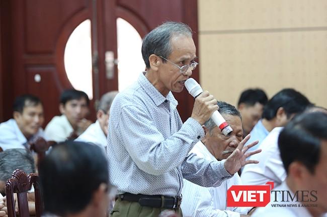 cử tri Nguyễn Danh Ngãi (Hòa Thọ Tây) cho rằng