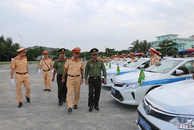 Lực lượng CSGT quyết tâm đảm bảo an toàn tuyệt đối cho Tuần lễ cấp cao APEC 2017 ảnh 12