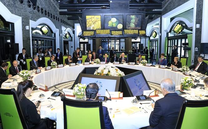 Bữa trưa của các lãnh đạo nền kinh tế APEC được diễn ra tại đây