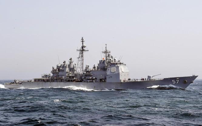 Tuần dương hạm USS Lake Champlain (CG-57) sẽ đến Đà Nẵng