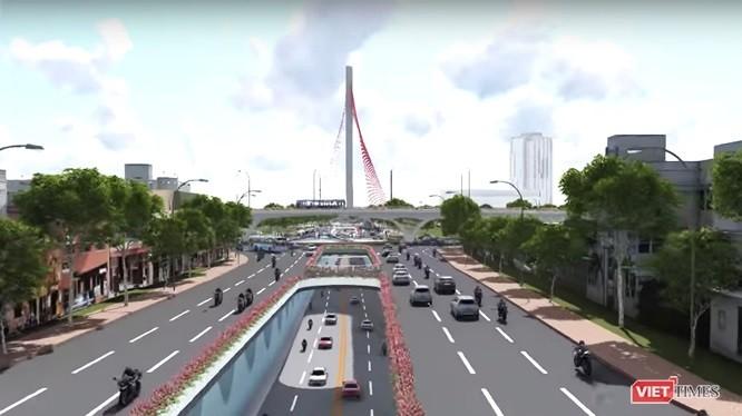 Đà Nẵng chi 723 tỷ đồng cải tạo nút giao thông phía Tây cầu Trần Thị Lý ảnh 1