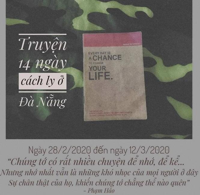 """Xúc động """"Nhật ký 14 ngày cách ly tại Đà Nẵng"""" của cô du học sinh Hàn Quốc ảnh 1"""