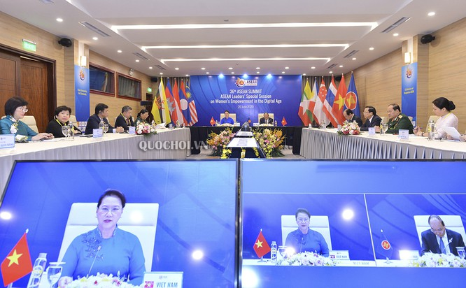 Lãnh đạo ASEAN họp bàn tăng quyền của phụ nữ trong thời đại số ảnh 1