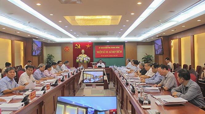 UBKT Trung ương đề nghị khai trừ Đảng đối với 4 cựu quan chức TP Đà Nẵng ảnh 1