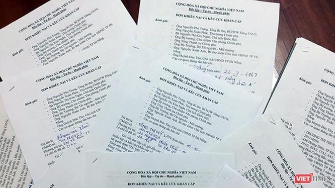 Đà Nẵng: Báo chí bị ngăn dự buổi tiếp dân vụ thu hồi đất ở công viên Đông Nam Đài tưởng niệm ảnh 1