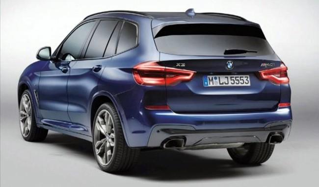 Hé lộ hình ảnh của BMW X3 hoàn toàn mới ảnh 2