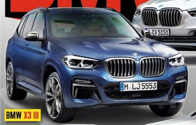 Hé lộ hình ảnh của BMW X3 hoàn toàn mới ảnh 1